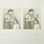 """The alternative"" - graphite and watercolour on paper, 50x70 cm, 2013"